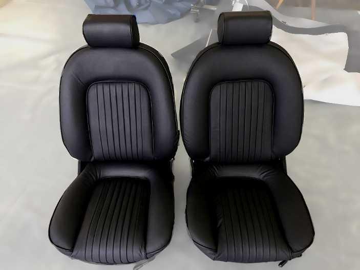 Alfa Romeo Echtledersitze