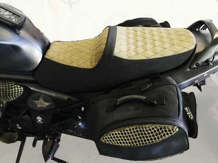 Motorradsattel
