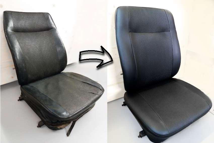 Autositz: aus alt mach neu (und schön)